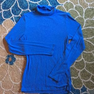 Aerie Real Soft fitted turtle neck tshirt